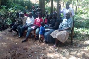The Water Project: Elunyu Community, Saina Spring -  Training