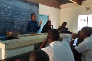 The Water Project: Mwitoti Secondary School -  Training
