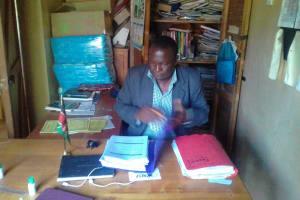 The Water Project: Mudete Primary School -  Headteacher