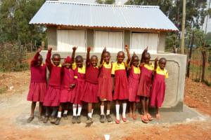 The Water Project: Shanjero Primary School -  Latrines