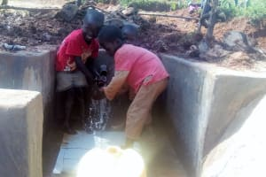 The Water Project: Simuli Community, Lihala Sifoto Spring -  Clean Water