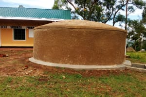 The Water Project: Shiyunzu Primary School -  Finished Tank