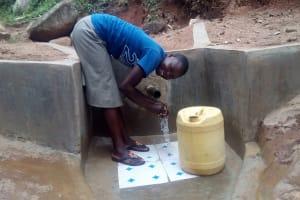 The Water Project: Gidagadi Community, Anusu Spring -  Clean Water