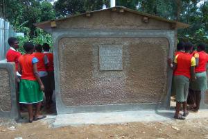 The Water Project: Malinya Girls Secondary School -  Latrines