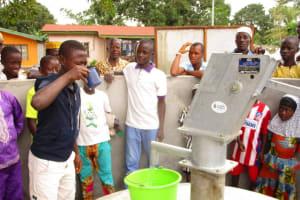 The Water Project: Kasongha Community, 16 Komrabai Road -  Clean Water
