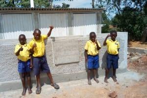 The Water Project: Emukhalari Primary School -  Latrines