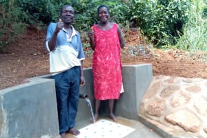 The Water Project: Mtao Community, Tifina Odari Spring -  Clean Water