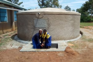 The Water Project: Emukhalari Primary School -  Clean Water