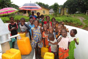 The Water Project: Mayaya Village A -  Clean Water