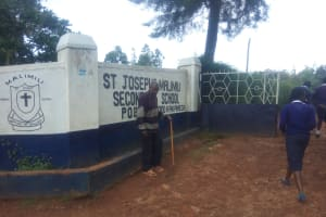 The Water Project: Malimili Secondary School -  Security Guard