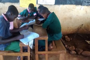 The Water Project: Womulalu Primary School -  In Class