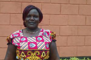 The Water Project: Samson Mmaitsi Secondary School -  Principal Gladys Kavere
