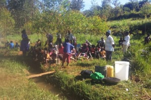 The Water Project: Isese Community, Sylvanus Spring -  Training