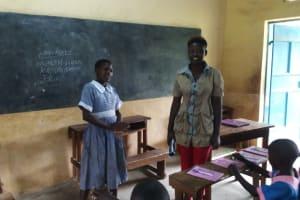 The Water Project: St. Antony Shijiko Primary School -  Training