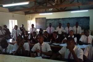 The Water Project: Mwitoti Secondary School -  Training Participants
