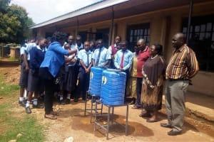 The Water Project: Ebubayi Secondary School -  Training