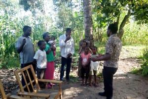 The Water Project: Shitungu Community, Mmbone Spring -  Training