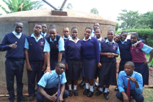 The Water Project: Ebubayi Secondary School -  Clean Water