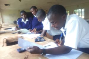 The Water Project: Malimili Secondary School -  Students In Class