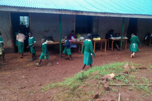 The Water Project: Chavakali Primary School -  Outside Classrooms
