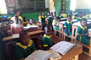 The Water Project: Madegwa Primary School -  Students In Class