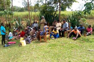 The Water Project: Futsi Fuvili Community, Patrick Munyalo Spring -  Training
