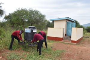 The Water Project: Uvaani Secondary School -  Hand Washing