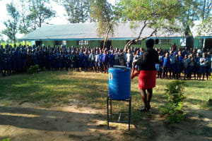 The Water Project: Namalenge Primary School -  Training