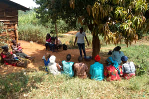 The Water Project: Mtao Community, Tifina Odari Spring -  Training
