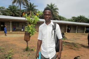 The Water Project: Ernest Bai Koroma Secondary School -  Joseph L Komba