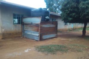 The Water Project: Malimili Secondary School -  Plastic Water Tank