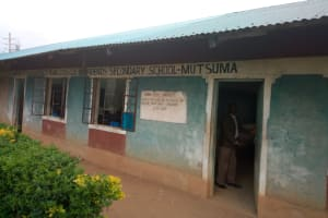 The Water Project: Mutsuma Secondary School -  School Grounds