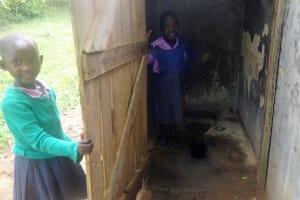 The Water Project: Ematetie Primary School -  Latrines