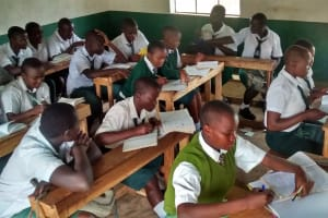 The Water Project: Mulwakhi Secondary School -  In Class