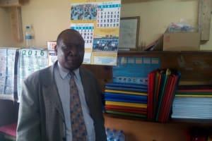 The Water Project: Esibeye Secondary School -  School Principal