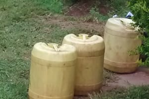 The Water Project: Erusui Secondary School -  Water Containers At School
