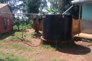 The Water Project: Madegwa Primary School -  The Plastic Tank