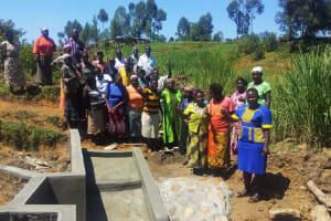 The Water Project: Ematiha Community, Ayubu Spring -  Training