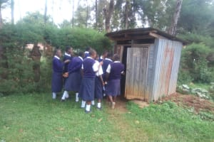 The Water Project: Malimili Secondary School -  Latrines