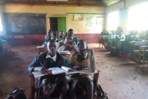 The Water Project: Chavakali Primary School -  In Class