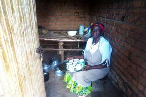 The Water Project: Madegwa Primary School -  School Cook