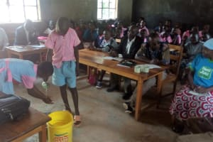 The Water Project: Muhudu Primary School -  Training