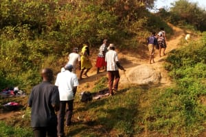 The Water Project: Emusanda Community, Walusia Spring -  Training