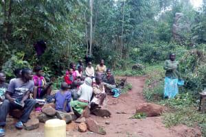 The Water Project: Gidagadi Community, Anusu Spring -  Training