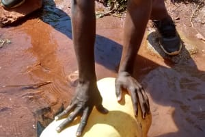The Water Project: Womulalu Secondary School -  Fetching Water