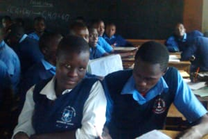 The Water Project: Samson Mmaitsi Secondary School -  In Class