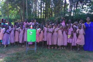 The Water Project: Irenji Primary School -  Hand Washing