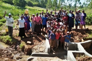 The Water Project: Isese Community, Sylvanus Spring -  Participants