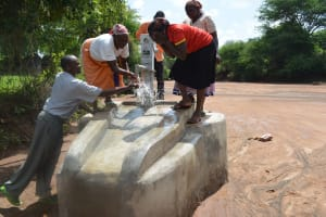 The Water Project: Nzalae Community A -  Clean Water