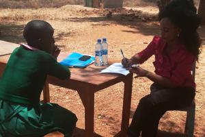 The Water Project: Waita Primary School -  Teresia Mwikali